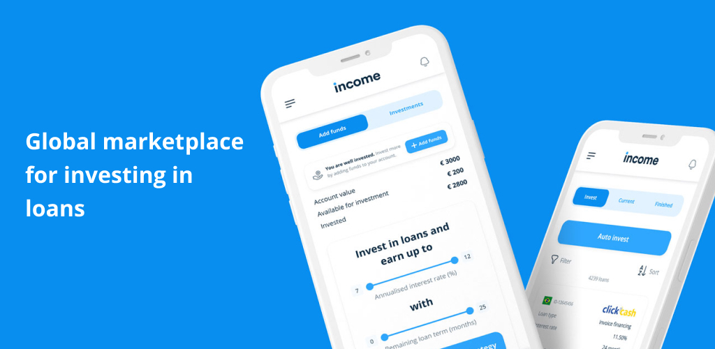 Income App - Invest in loans